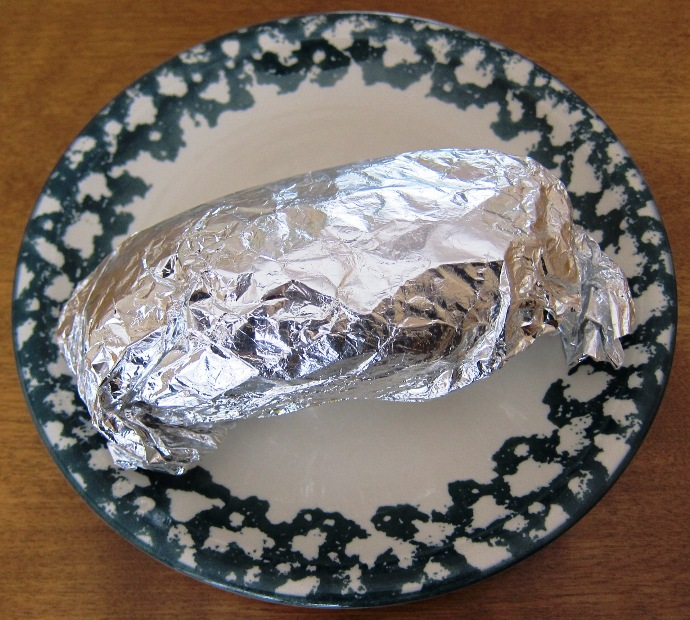 Foil Wrapped Baked Potato Recipe