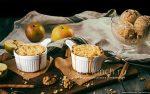 Крамбл яблочный – Яблочный крамбл, рецепт с фото