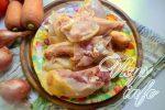 Курица в томате с чесноком на сковороде – Курица в томатно-чесночном соусе — рецепт пошаговый с фото: Вторые блюда