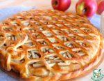Тесто для открытого пирога с яблоками – Открытый пирог с яблоками. Простой пирог с яблоками: рецепт :: SYL.ru