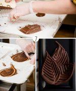Трафареты для работы с шоколадом – Шоколадные бабочки и узоры для украшения десерта » Женский Мир